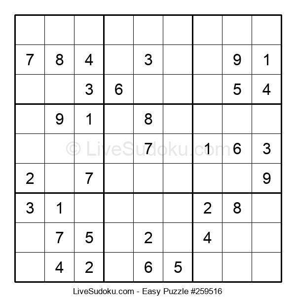 Beginners Puzzle #259516