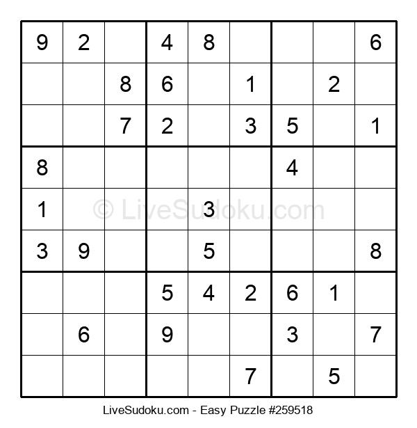 Beginners Puzzle #259518