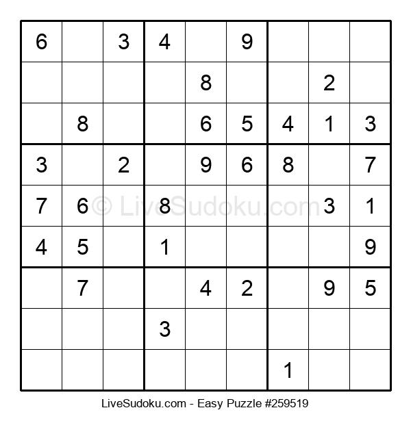 Beginners Puzzle #259519