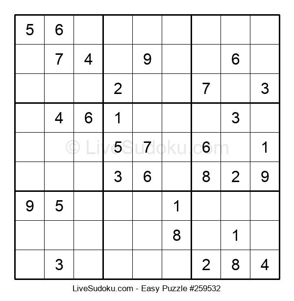Beginners Puzzle #259532