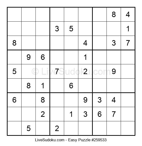 Beginners Puzzle #259533