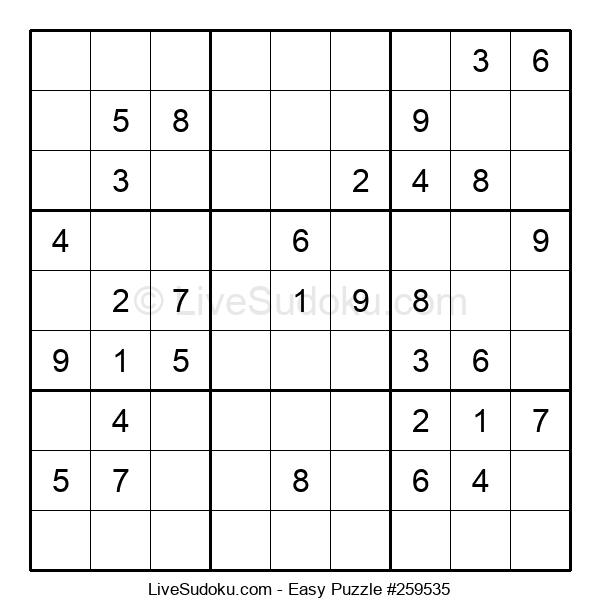 Beginners Puzzle #259535