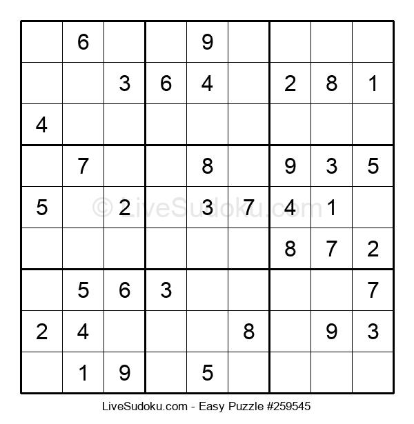 Beginners Puzzle #259545