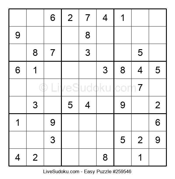 Beginners Puzzle #259546
