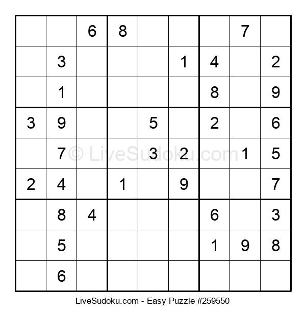 Beginners Puzzle #259550