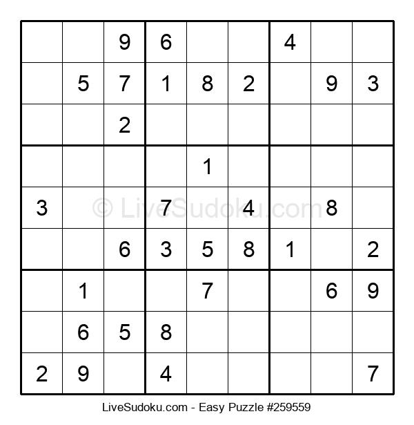 Beginners Puzzle #259559