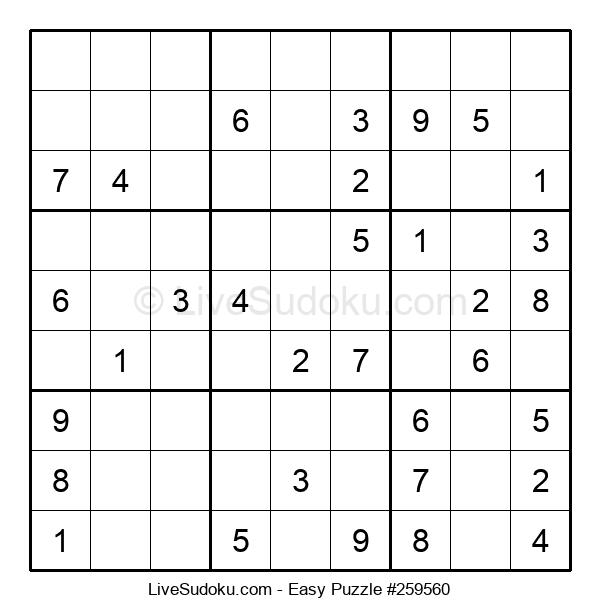 Beginners Puzzle #259560