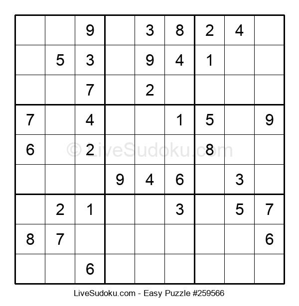 Beginners Puzzle #259566