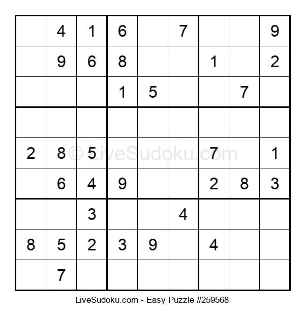 Beginners Puzzle #259568
