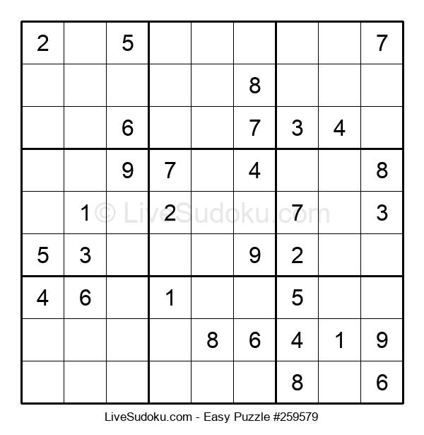 Beginners Puzzle #259579