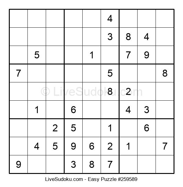 Beginners Puzzle #259589