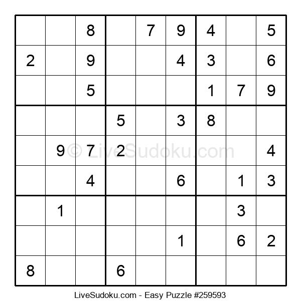 Beginners Puzzle #259593