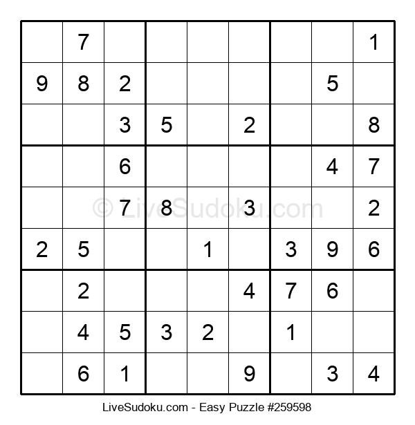 Beginners Puzzle #259598