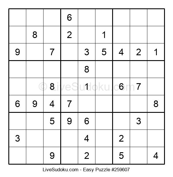 Beginners Puzzle #259607