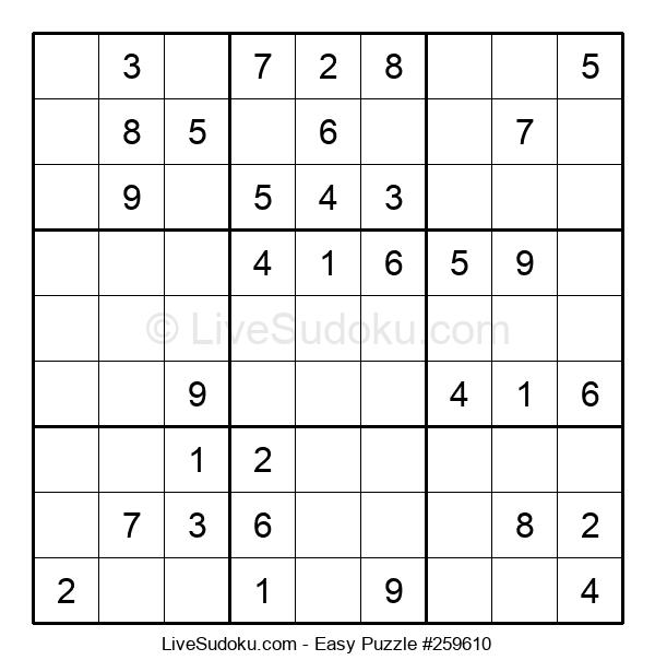 Beginners Puzzle #259610