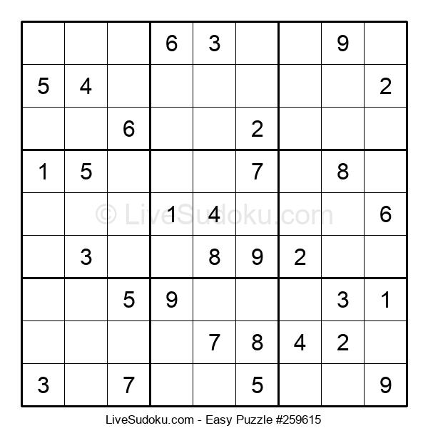 Beginners Puzzle #259615