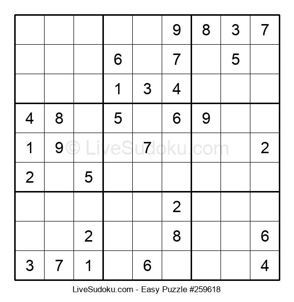 Beginners Puzzle #259618