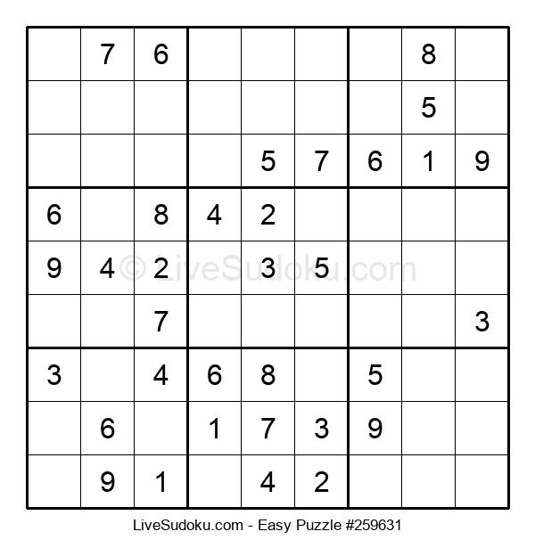 Beginners Puzzle #259631