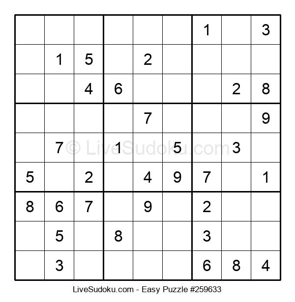 Beginners Puzzle #259633