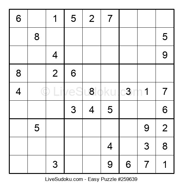 Beginners Puzzle #259639