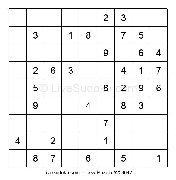 Beginners Puzzle #259642