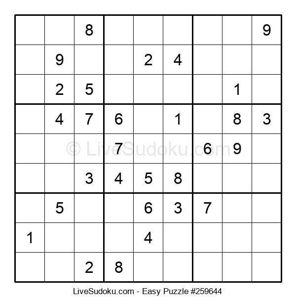 Beginners Puzzle #259644