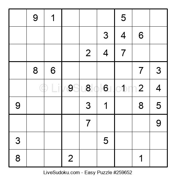 Beginners Puzzle #259652