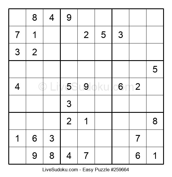Beginners Puzzle #259664