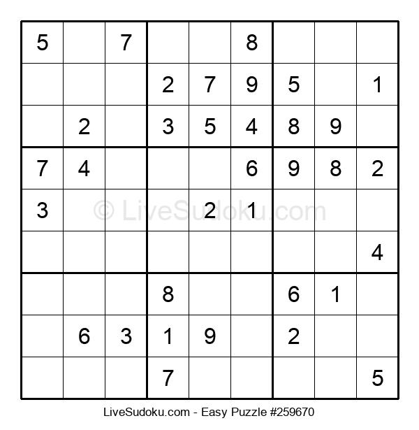 Beginners Puzzle #259670