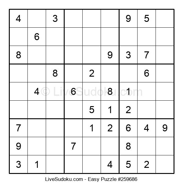 Beginners Puzzle #259686