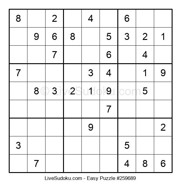 Beginners Puzzle #259689