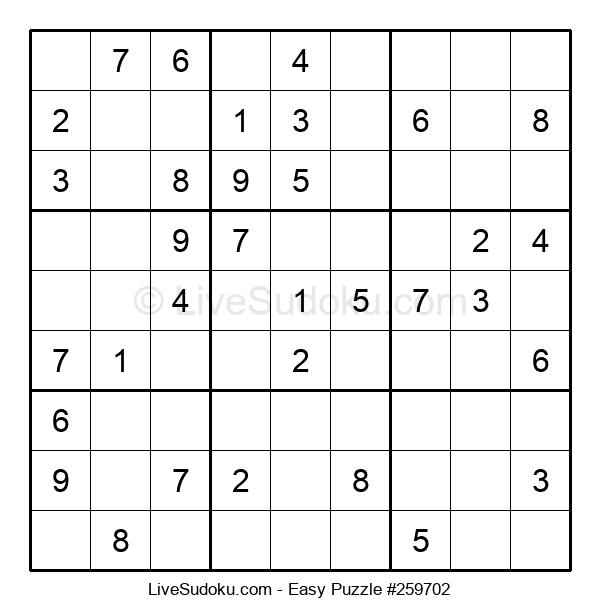 Beginners Puzzle #259702