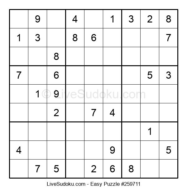 Beginners Puzzle #259711