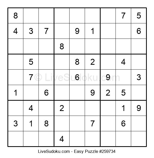 Beginners Puzzle #259734