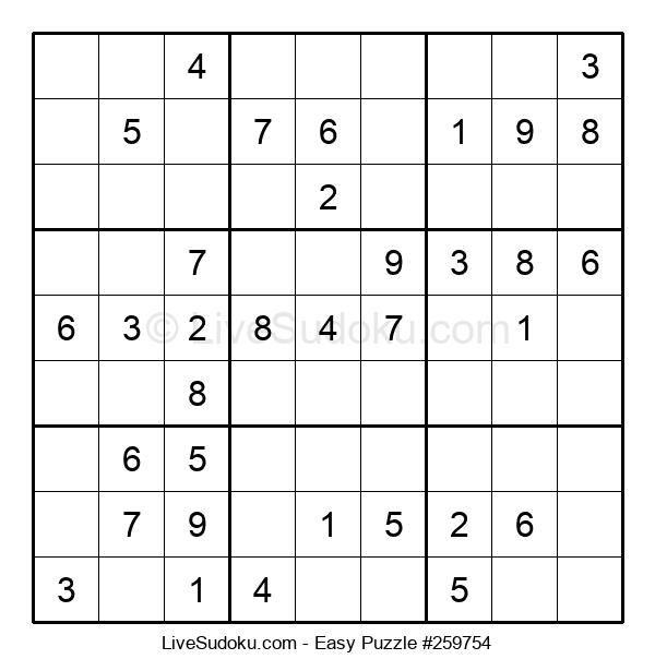 Beginners Puzzle #259754