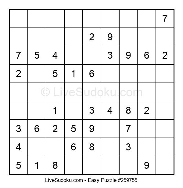 Beginners Puzzle #259755