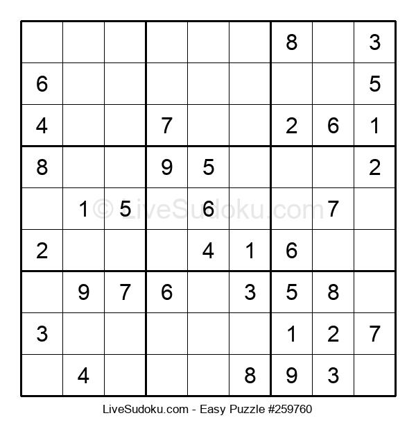 Beginners Puzzle #259760