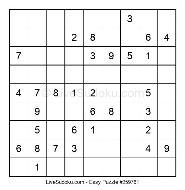 Beginners Puzzle #259761