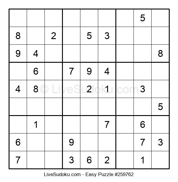 Beginners Puzzle #259762