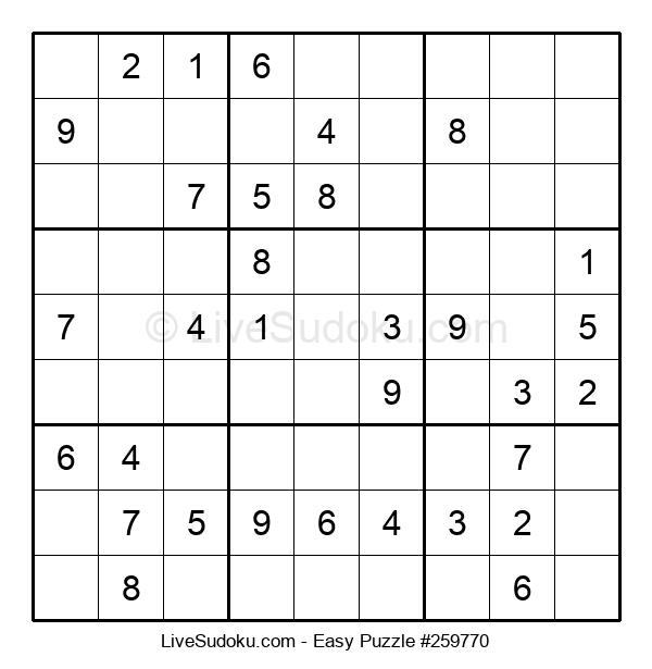 Beginners Puzzle #259770