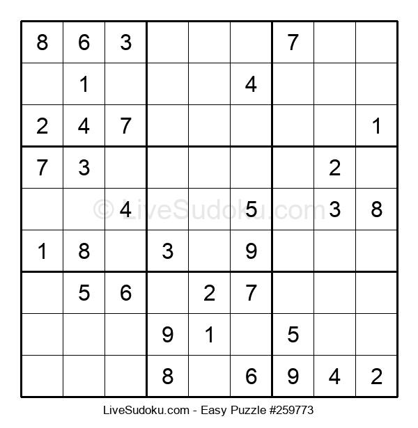 Beginners Puzzle #259773