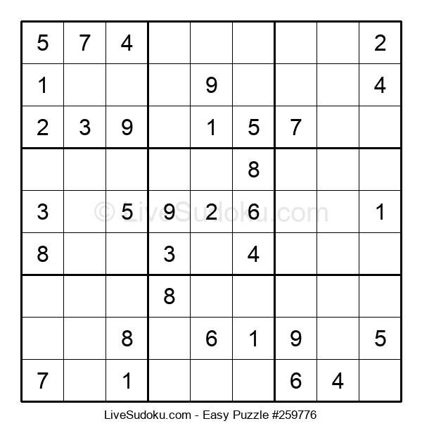 Beginners Puzzle #259776