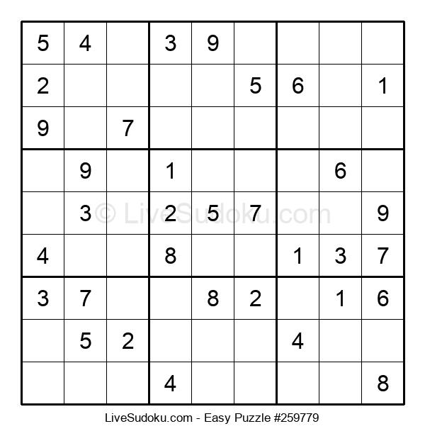 Beginners Puzzle #259779