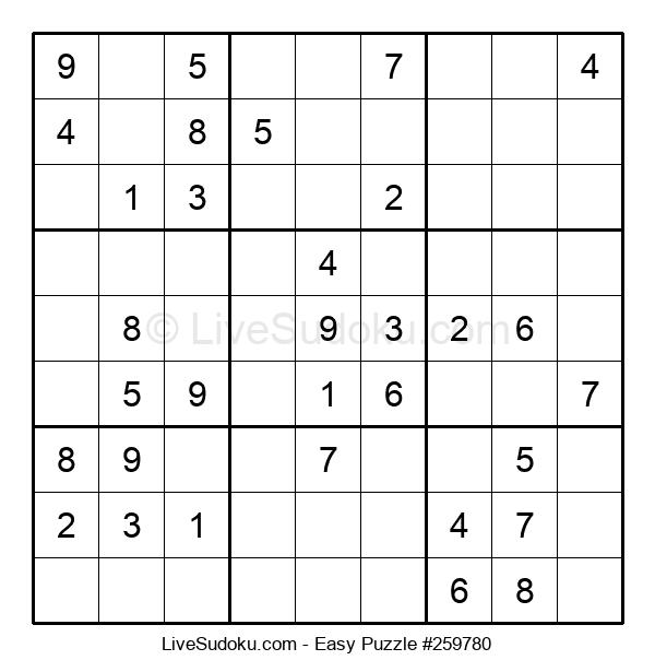 Beginners Puzzle #259780