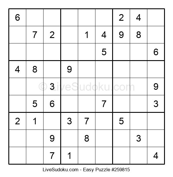 Beginners Puzzle #259815