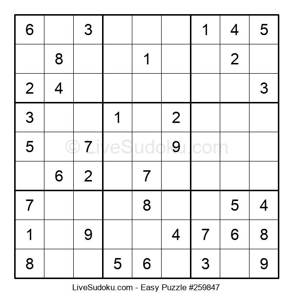 Beginners Puzzle #259847