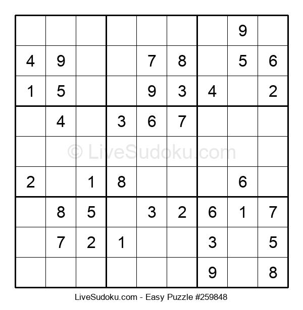Beginners Puzzle #259848