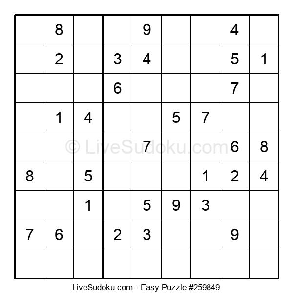 Beginners Puzzle #259849