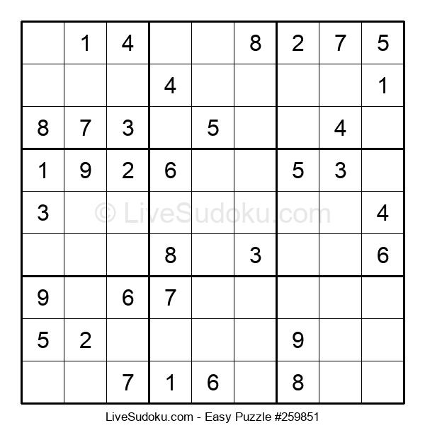 Beginners Puzzle #259851