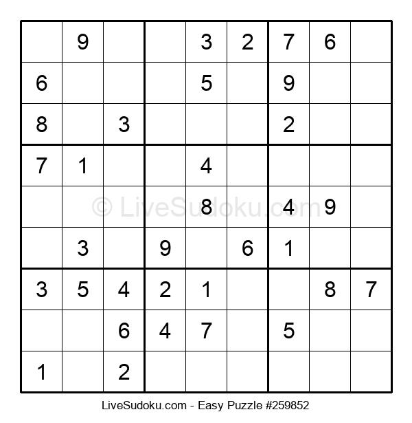 Beginners Puzzle #259852